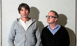 Brian Cox and Robin Ince.
