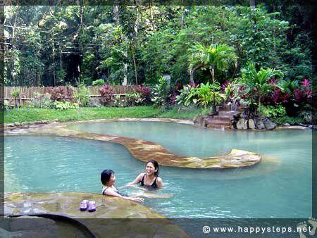 At mambucal hot spring