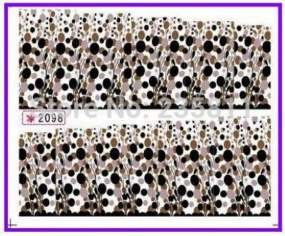1X  Nail Art Water Transfers Stickers Nail Decals Stickers Water Decal  Balloon Spot Speckle Full Page SY2098-in Stickers & Decals from Health & Beauty on Aliexpress.com | Alibaba Group