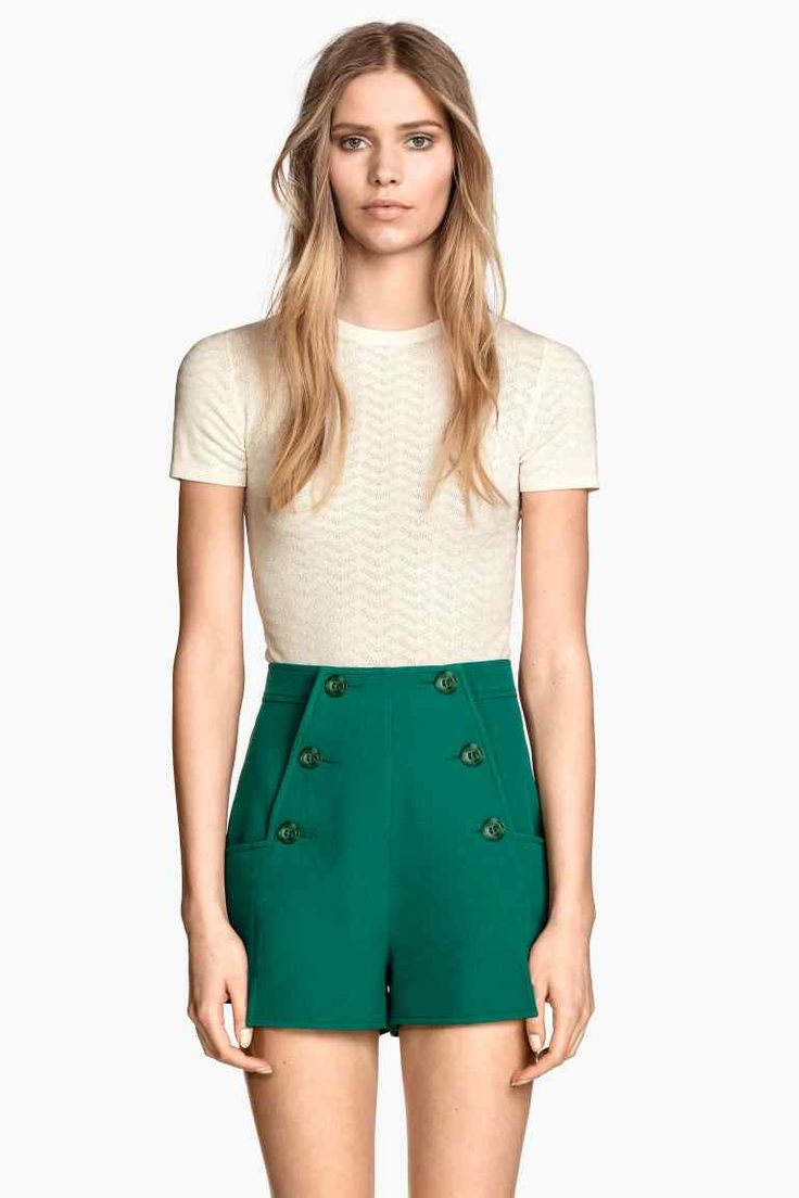 Szorty High waist 139,90 PLN H&M