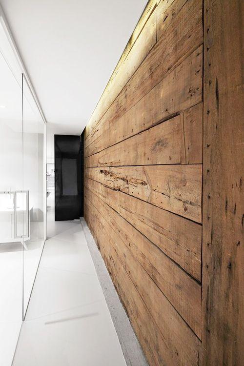 wood panel wall #homedesign #homedecor #wood