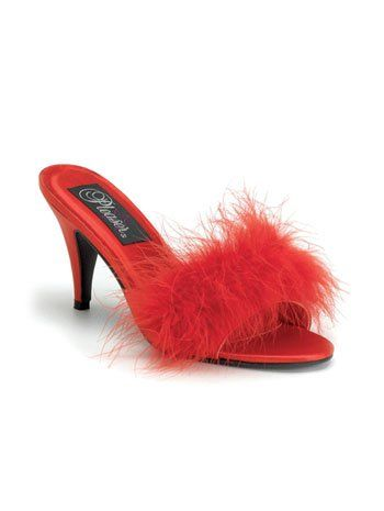 1000 images about sexy slippers on pinterest sexy gov - Ladies bedroom slippers with heel ...