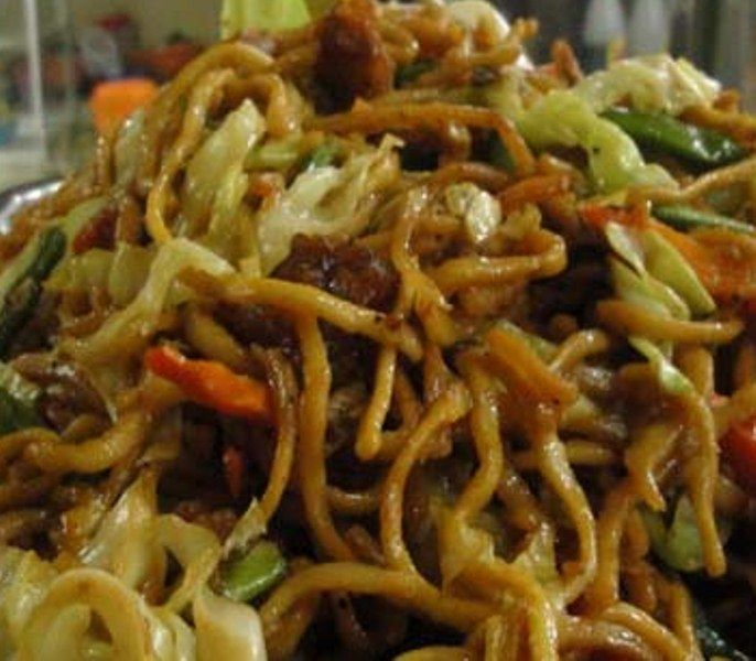 Pancit Miki  Filipino Recipe - One of the variations of the Pancit, the local term for noodles in the Philippines, is the miki. This dish, though not as popular as the Pancit Canton or Pancit Bihon, still has its distinct taste and characteristic that has people craving and wanting more.