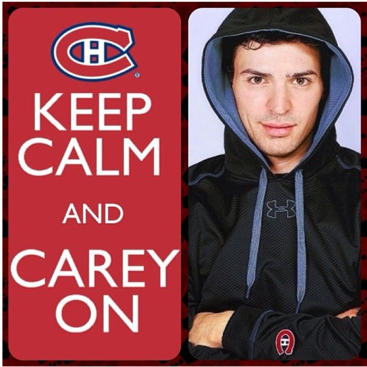 Can't wait for the up coming season! Go Habs Go! #careyprice #habs