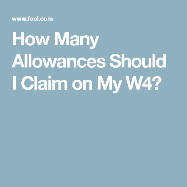 Best  W Allowances Ideas On   W Tax Form Form W