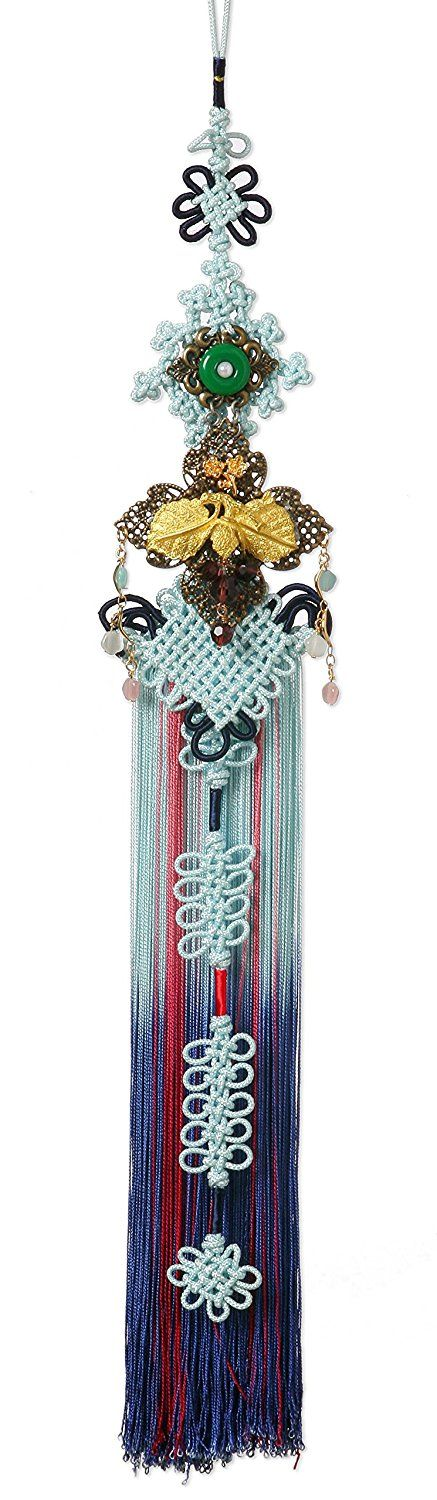 Sonjjang Korean Traditional Clothes Ornament for Women Hanbok Norigae B49 at Amazon Women's Clothing store: