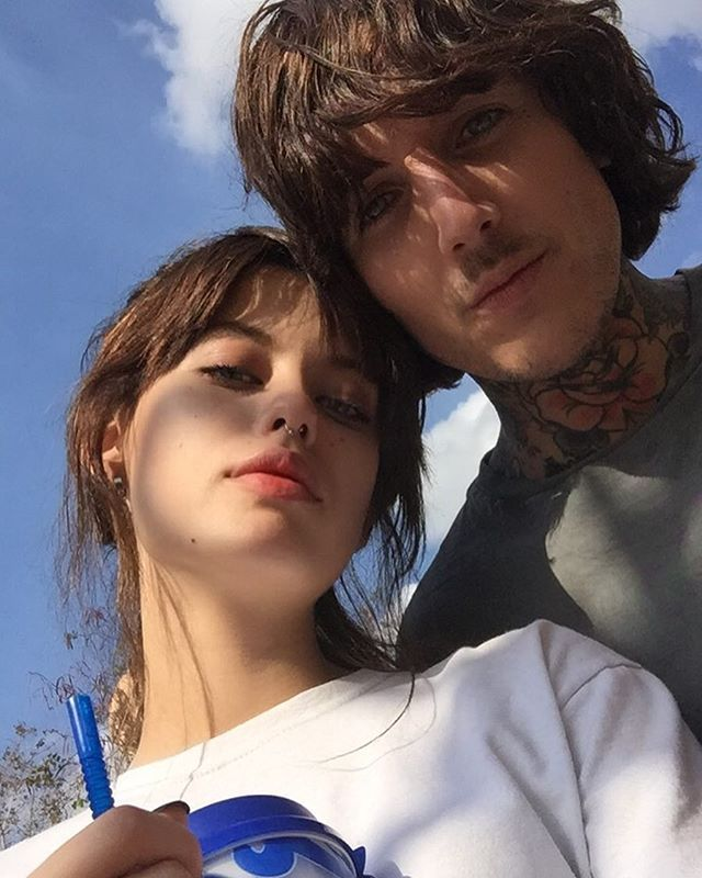 38 best Oliver Sykes and Alissa Salls. images on Pinterest ...