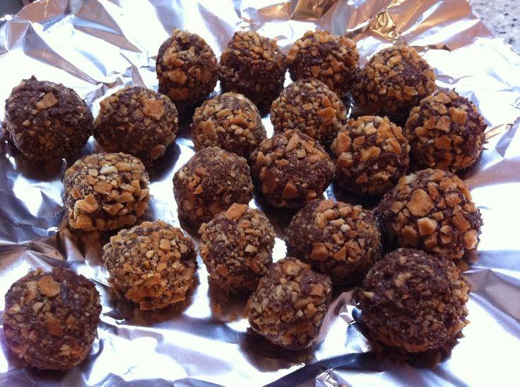 Me Encanta el Chocolate: Bombones tipo Ferrero Rocher