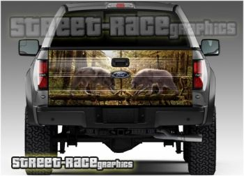Ford F-150 tailgate wraps from www.street-race.org