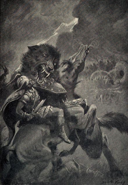 Thor v Fenrir