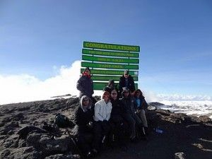 summit in December 2011 via the machame route. Awesome day!!!