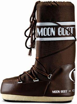 #MOONBOOT #Damen #Nylon #Winterschuhe #braun - Moonboot NYLON. Das Original…