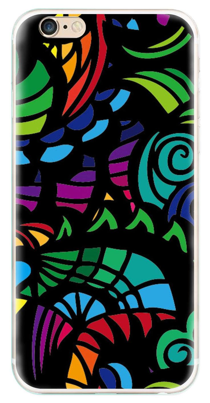 Whatskin DIY Style Colored Painting Series 05 Clear Back Cover for iphone 6