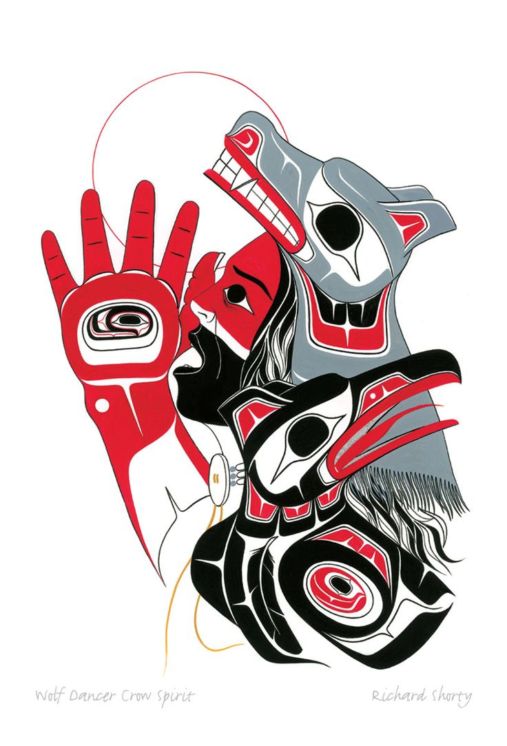 Wolf Dancer Crow Spirit | Richard Shorty