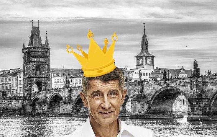 King of elections Babiš/král voleb Babiš
