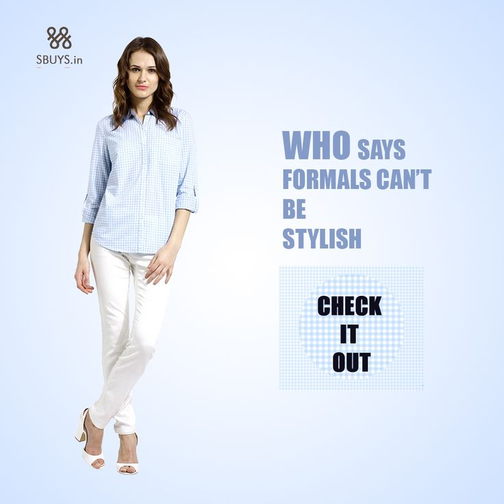Regular button down #formal #shirt for #stylish #women..Check Now ! >>> http://www.sbuys.in/sbuys-regular-button-down-shirt-4185.html
