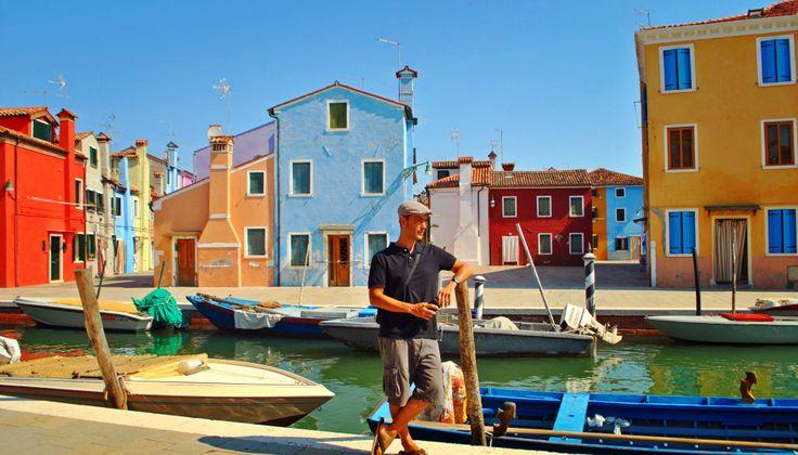 The most unique island in the Venetian lagoon.
