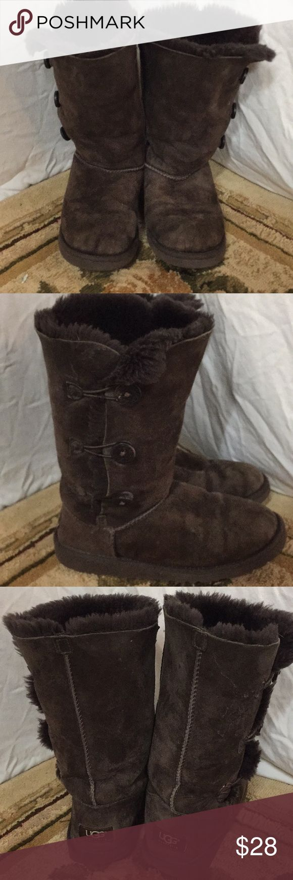 UGG BAILEY BOOTS SZ 36/6 Great auth boots show wear priced accordingly Shoes Winter & Rain Boots
