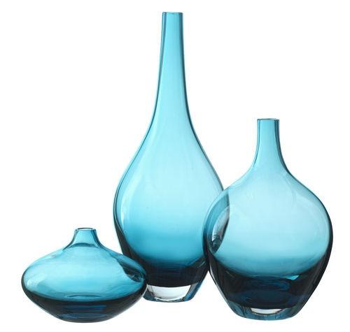 ikea glass vase salong turquoise blue vase unique mouth blown modern vases new vases vase and. Black Bedroom Furniture Sets. Home Design Ideas