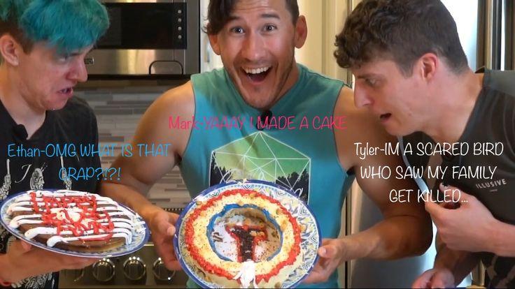 """My own meme, from Markiplier's video """"Markiplier Makes: Cake"""""""