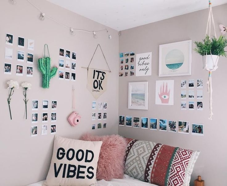 Best 25 tumblr wall decor ideas on pinterest tumblr rooms tumblr bedroom and diy room decor - Bedroom wall decoration ideas for teens ...