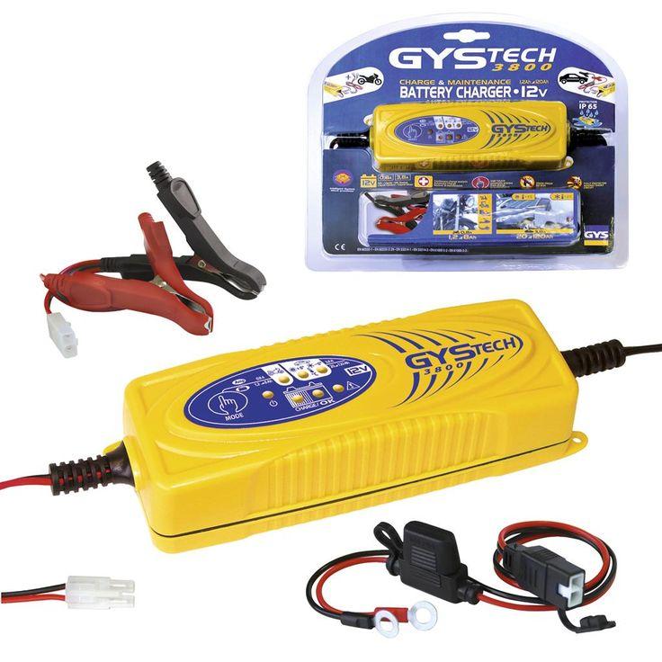 GYS Acculader GYSTECH 3800, Automatisch