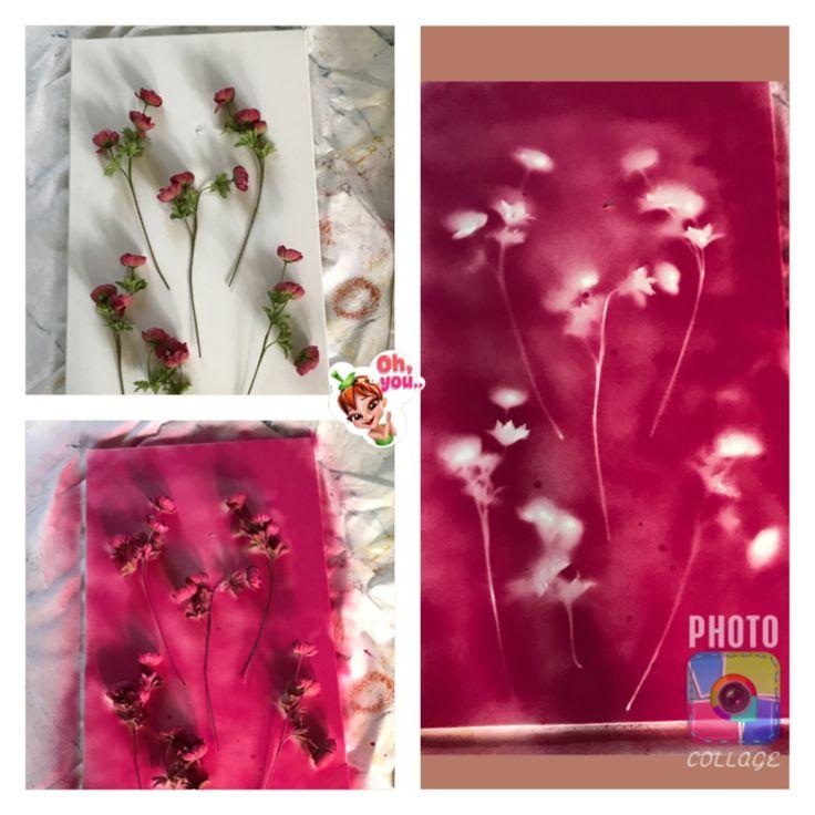 Graffiti bloemen schilderij. Super simpel en leuk effect. Benodigdheden houten plaat, (kunst)bloemen, graffiti naar keuze. Leg de bloemen op de plaat hoe je ze wil en spuit eroverheen met de graffiti. Op de plek waar de bloemen liggen komt geen verf! Na afloop kan je de bloemen verwijderen en blijven er de schaduwen over van de bloemen! Zie plaatje!