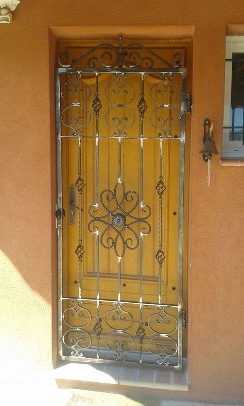 oltre 25 fantastiche idee su porte di ferro su pinterest porte in ferro battuto porte in. Black Bedroom Furniture Sets. Home Design Ideas