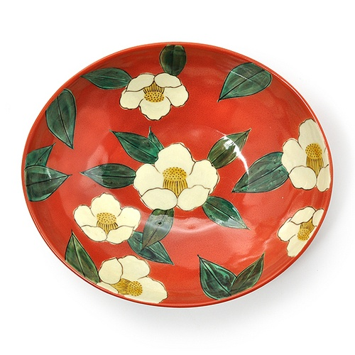 kraso [クラソ]|アレックス・カーさんが見立て日本の美しいもの 九谷焼 山茶花紋鉢|フェリシモ