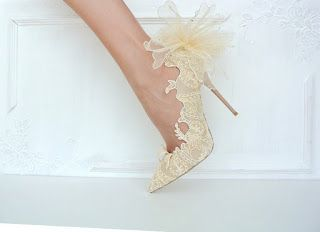Tina's handicraft : how to make wedding shoes - step by step photo tut...