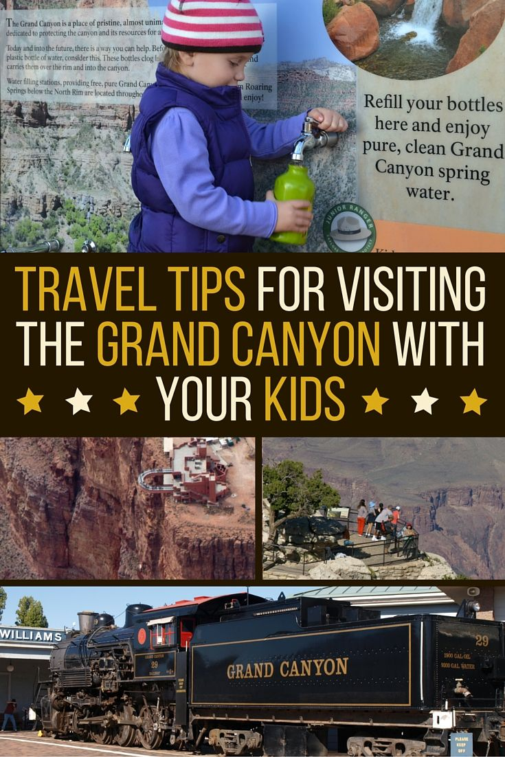Thinking about taking your kids to the #GrandCanyon for your next family vacation? We're sharing 8 great tips for visiting the Canyon with kids, as well as some of the best family activities the Grand Canyon has to offer, today on our blog: