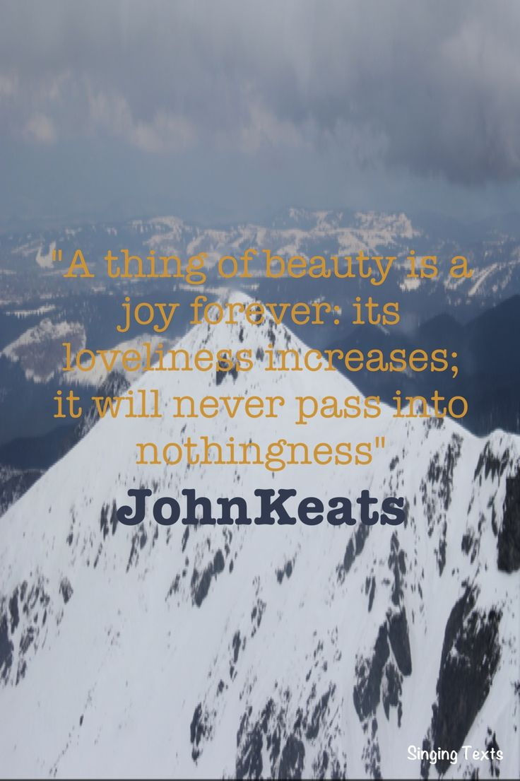 Poetry Quote: John Keats Www.workplacementcanada.com