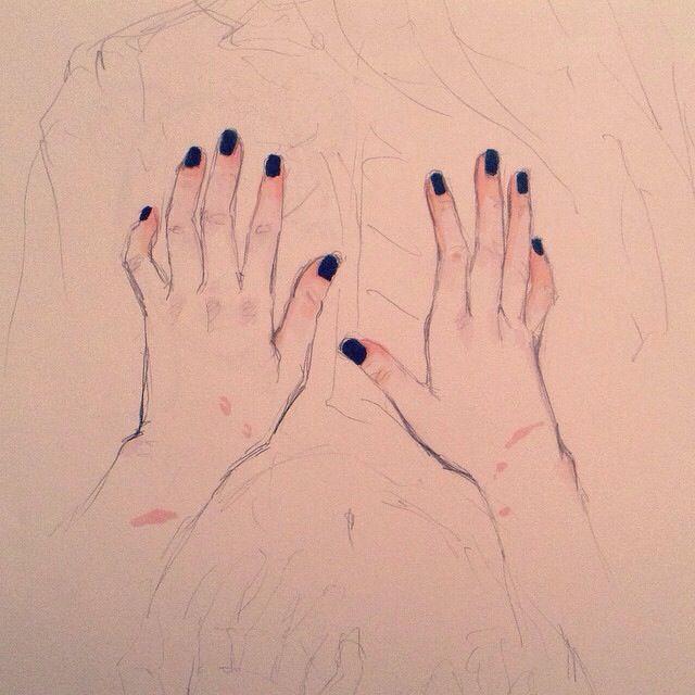 Hand sketch By Tomatozombie On Instagram //