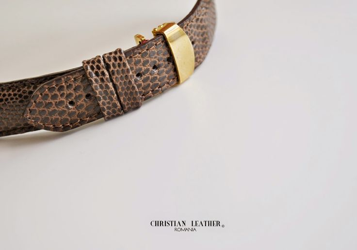 #lizard #exotic #leather #strap from Christianstraps, Bucharest, Romania