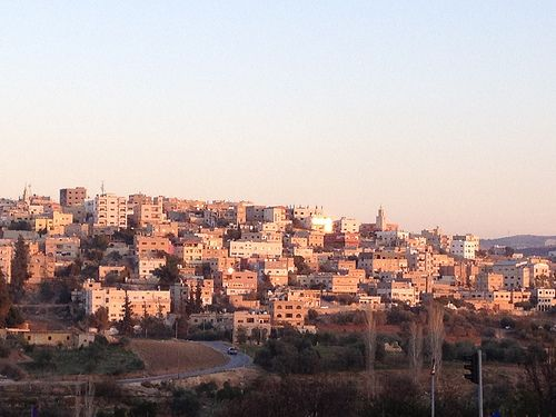 Sunset in Amman, Jordan: Travel blog with tips on how to visit Jordan from Israel