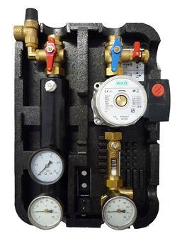 Grupa pompowa Taconova Tacosol Circ FV 70 ZR do systemów wyposażonych w kolektory próżniowe oraz płaskie.  Stacja solarna podwójna z pompą Wilo. Jest jednym z głównych elementów instalacji solarnych, pełni funkcję bezpieczeństwa, regulacji przepływu, dostarcza informacji na temat temperatury oraz ciśnienia w systemie solarnym.