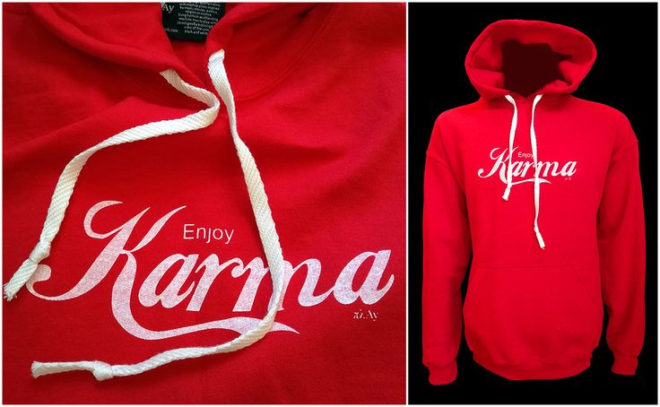 Enjoy Karma Hoodie #fashion #style #gifts #hoodie #hoodiesoutfit #hoodiesforwomen #streetstyle #streetwear #enjoy #karma #cocacola #coca #red #clothing #logo #play