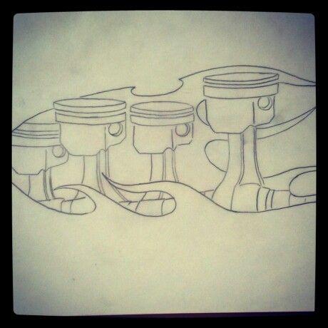 Piston Designs Drawings