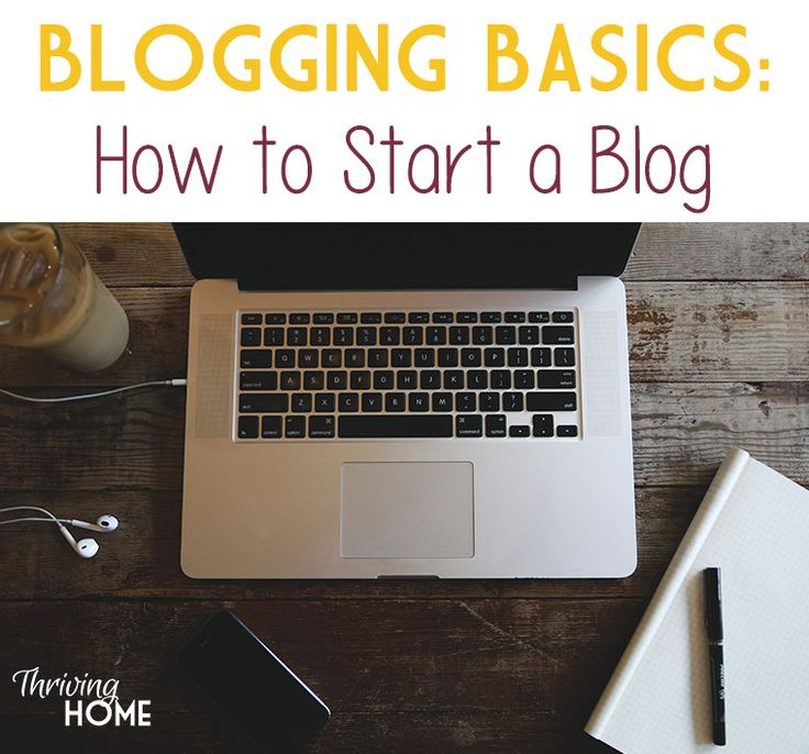 How to start a blog. A step-by-step tutorial with lots of pictures walking you through how to start your own website.
