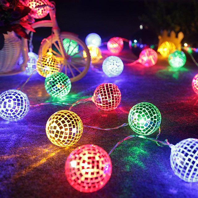 Disco Ball Led Decor Lights Christmas Decorations Sale Led Party Lights Christmas Lanterns