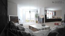 05 - P. B. Lunds Vej (stue 2, mod kanap) (4 vaerelses lejlighed)