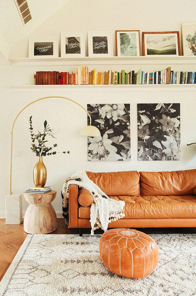 Wohnzimmer Makeover enthüllen