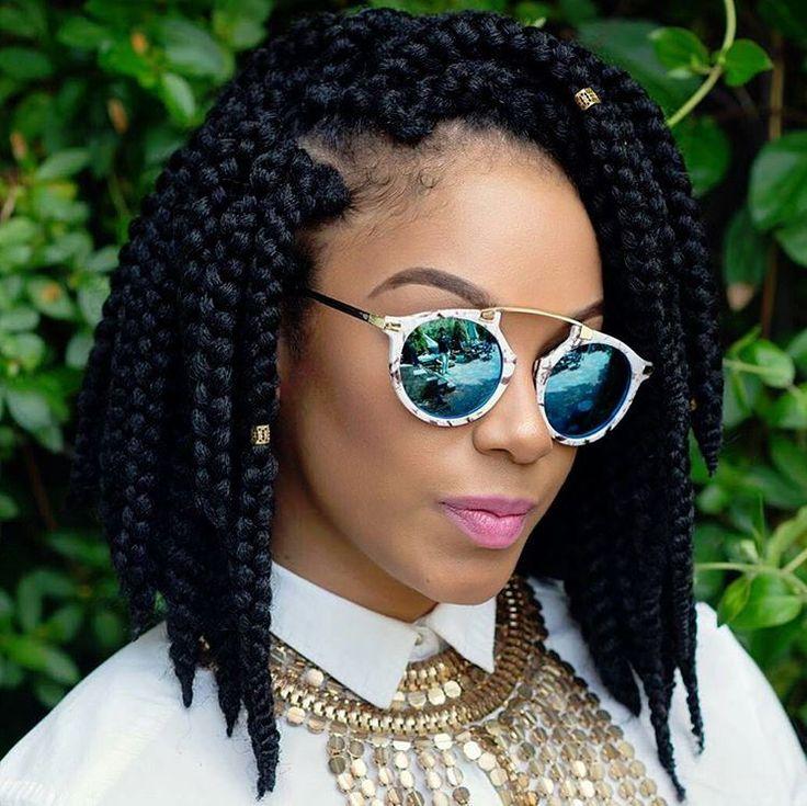 Coiffure africaine femme crochet - Tresse pour crochet braids ...