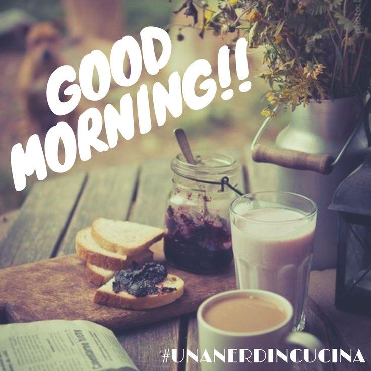 Buongiorno e Buon Sabato finalmente! ☕️☕️ #unanerdincucina #picoftheday #saturday #goodmorning #buongiorno #breakfast #coffee #caffe
