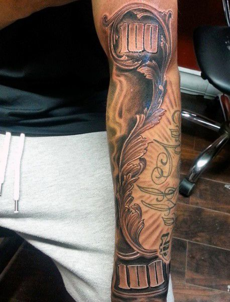 50 Money Tattoos For Men - Wealth Of Masculine Design ...