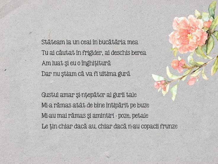 16th poem - Poze, petale