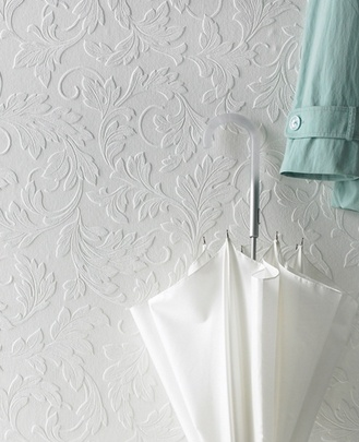 More paintable wall paper