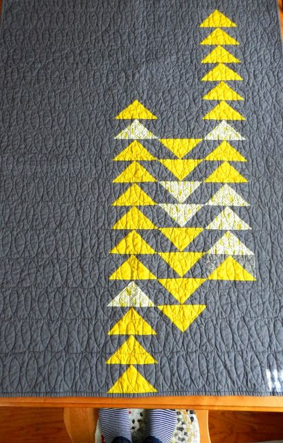 Flight by Molly Flanders. This would be so easy to make using Triangles On A Roll Flying Geese papers.