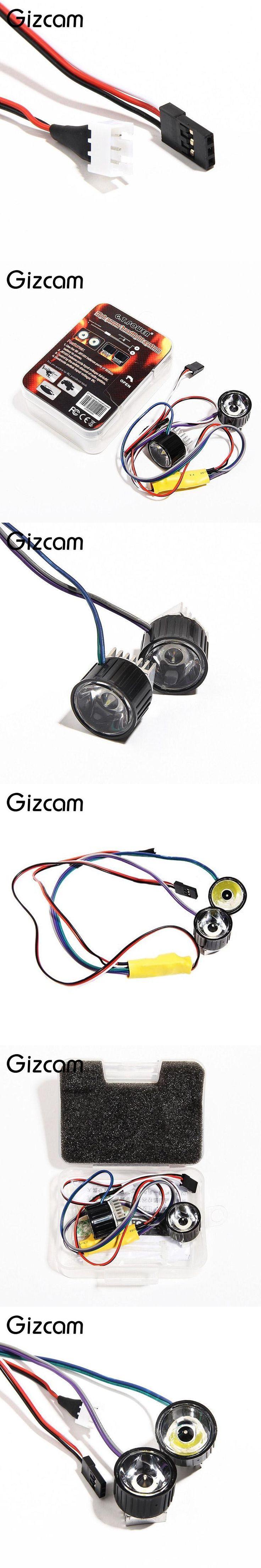 Gizcam GT POWER High Power Headlight Lamp System for Rc Model Car Boat Helicopter Copter Plane GT019 Headlamp Drone Accessories
