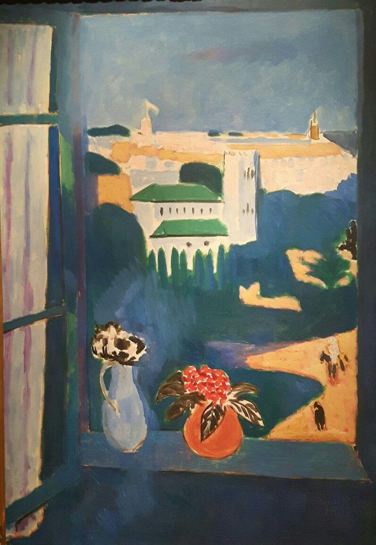 Paesaggio dalla finestra a Tangeri 1912 Museo Pushkin di Mosca